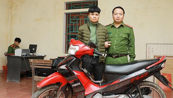 Thái Mạnh Giáp tại CQĐT.