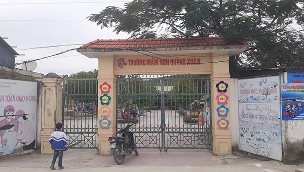 Trường mầm non Quỳnh Xuân