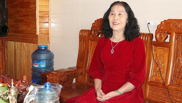 Bà Bùi Thị Thêm nữ doanh nhân thành đạt, giàu lòng nhân ái