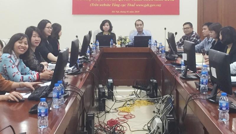 Chi cục thuế thành phố Vinh hỗ trợ trực tuyến về quyết toán thuế thu nhập doanh nghiệp.