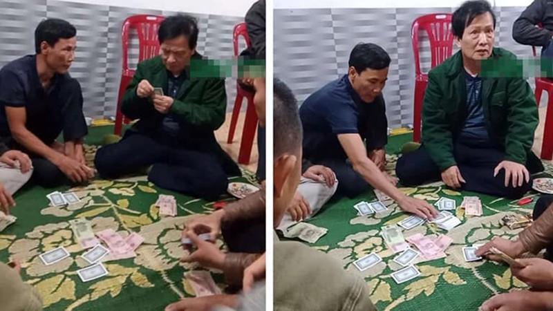 Công an triệu tập chủ tịch xã cùng 6 đối tượng tham gia đánh bạc