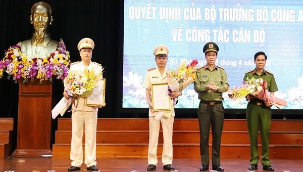 Hà Tĩnh có hai Phó Giám đốc Công an tỉnh