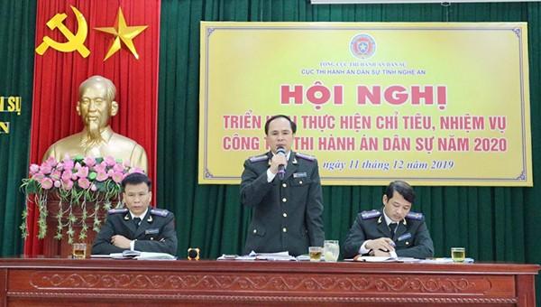 Đảng bộ Cục THADS Nghệ An đẩy mạnh các phong trào thi đua hướng đến Đại hội Đảng bộ Cục lần thứ III
