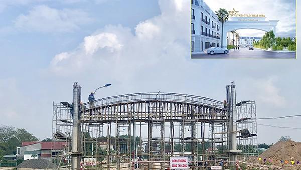 Cận cảnh tiến độ thi công thần tốc siêu đô thị hiện đại bậc nhất Thái Hòa