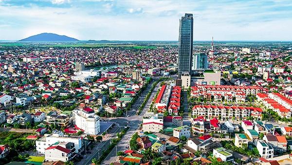 Thành phố Hà Tĩnh có mức tăng trưởng khá hơn so với các địa phương khác