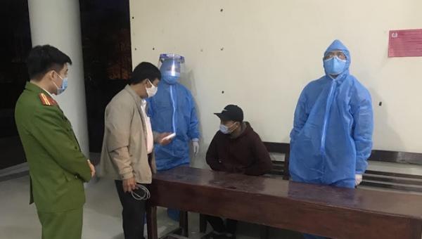 Từ Lào về quê ăn tết, nam thanh niên khai báo gian dối để trốn cách ly