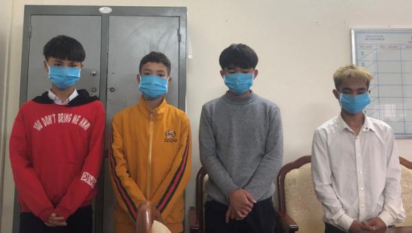 Các đối tượng gây ra các vụ trộm tiền công đức trên địa bàn Hà Tĩnh.