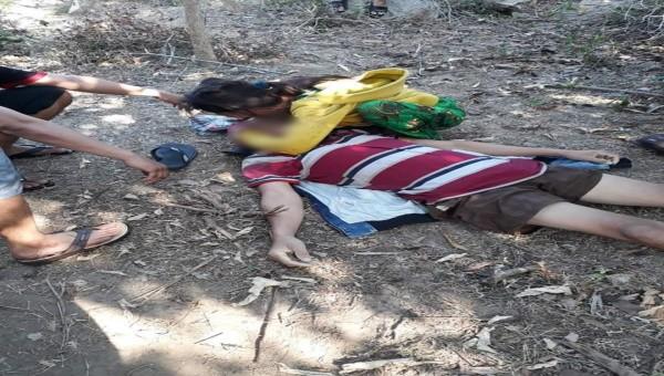 Đào vàng, một người bị đá đè chết ở Phú Yên
