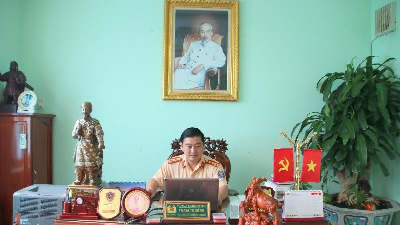 Trung tá Nguyễn Trần Xuân Vương: Lấy hạnh phúc của nhân dân làm lẽ sống cho mình