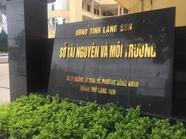 Giám đốc Sở TNMT Lạng Sơn tiếp dân đạt tỉ lệ dưới 1%.