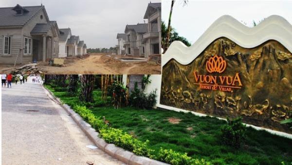 Sai phạm tại Dự án Vườn Vua: Chủ tịch tỉnh Phú Thọ chỉ đạo kiểm điểm trách nhiệm tập thể, cá nhân liên quan