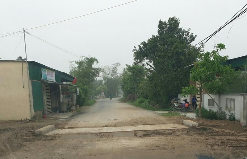 Dự án hạ tầng làng nghề mây tre đan xuất khẩu ở Nghi Lộc đang dở dang chờ vốn