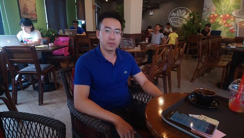 Anh Trung cho rằng việc công ty thu giữ lại tiền lương, thưởng cho đại lý là vô lý