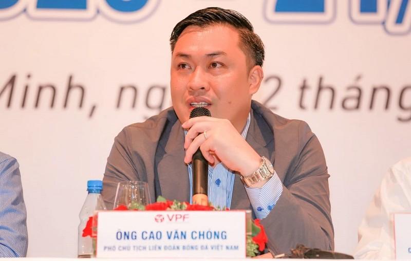 Ông Cao Văn Chóng, Phó Chủ tịch VFF tin tưởng hợp đồng với ông Park sẽ sớm được ký kết