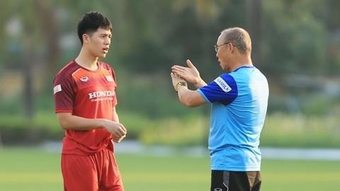 Ông Park Hang Seo dành sự kỳ vọng rất lớn dành cho Đình Trọng