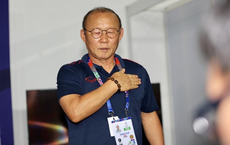 ông Park Hang seo đã dành trọn tình yêu cho người hâm mộ và hứa sẽ đoạt HCV lần này