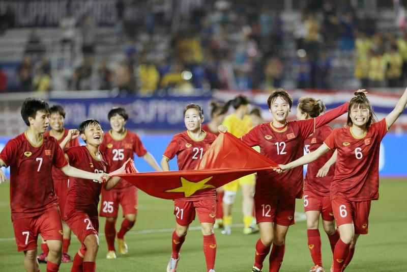 Đội tuyển nữ Việt Nam đứng thứ 6 Châu Á, hạng 32 thế giới