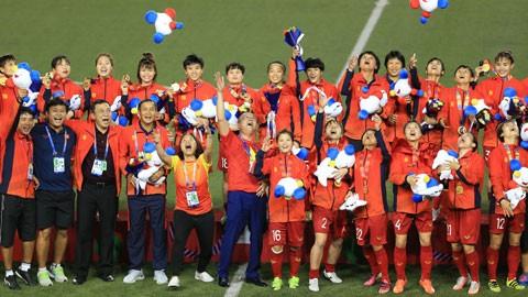 ĐT bóng đá nữ Quốc gia nhận được khoảng 22 tỷ VNĐ sau khi vô địch SEA Games.