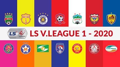 Tạm dừng V.League 2020 đến hết tháng 3 do dịch Covid-19
