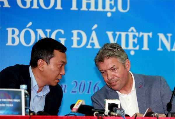 VFF chấm dứt hợp đồng với Giám đốc kỹ thuật Jurgen Gede