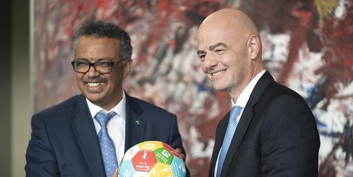 Chủ tịch  FIFA cảm ơn Việt Nam đã làm dịu đi nỗi đau, đem đến hy vọng tốt đẹp