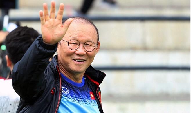 Thành công của bóng đá Việt Nam có công lớn của HLV Park Hang seo