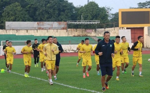 SLNA đã tập trung đội bóng chuẩn bị cho mùa giải mới
