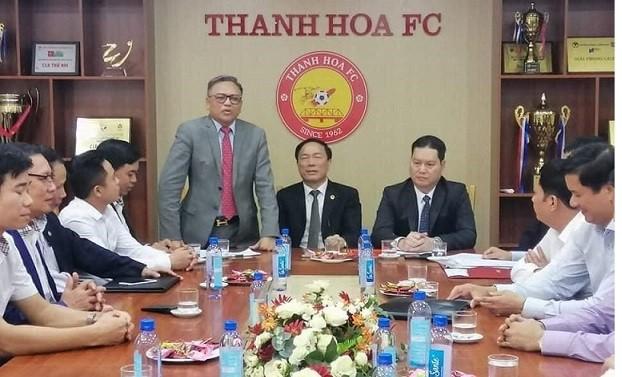 Buổi lễ bàn giao CLB Thanh Hóa cho doanh nhân Cao Tiến Đoan