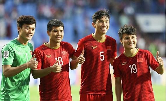 Thủ môn Bùi Tiễn Dũng, Hà Đức Chinh và Quang Hải đều sinh năm Sửu (1997).