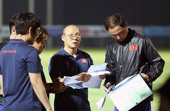 Park Hang seo và cộng sự đặt mục tiêu lớn cho đội tuyển Việt Nam