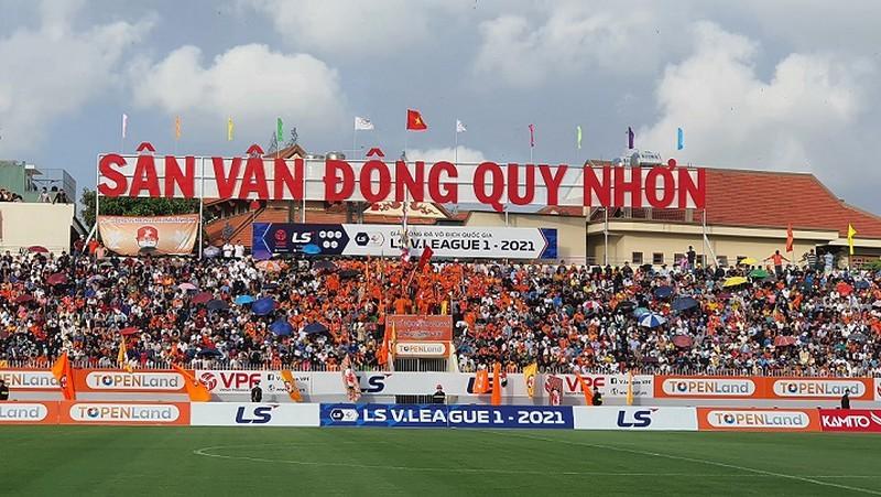 Đội tuyển Việt Nam chọn sân Quy Nhơn làm địa điểm tập huấn