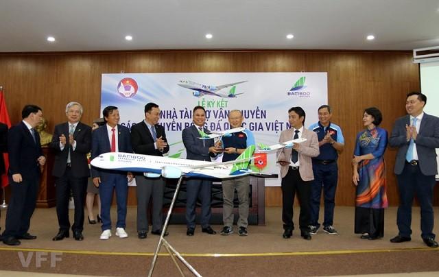 Bamboo Airways sẽ bay chuyên cơ đưa ĐTQG sang UAE thi đấu