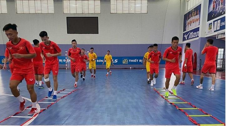 Futsal Việt Nam chuẩn bị chinh phục World Cup 2021
