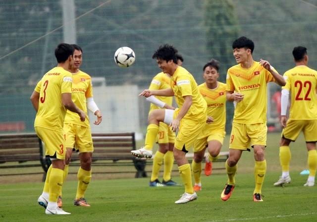 Đội tuyển Việt Nam hủy tập huấn ở Quy Nhơn