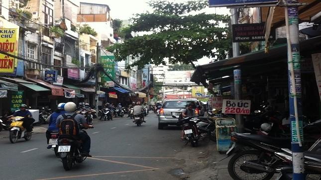 Đoạn đường xảy ra tai nạn là điểm nóng về tình trạng cướp giật.