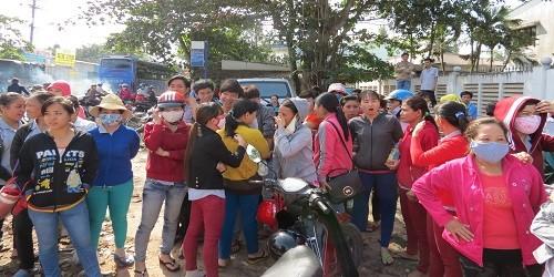 """Đình công tại Công ty TNHH CariMax Sài Gòn: Công ty dọa """"khởi tố"""" công nhân"""