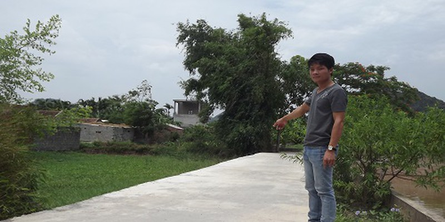 Thanh Hóa: Ngang nhiên làm đường qua đất thổ cư