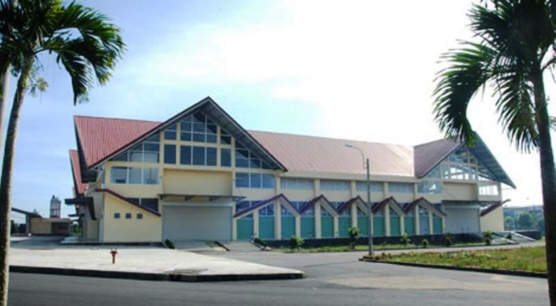 Chợ Bảo Lộc (Lâm Đồng) khi đã hoàn thành.