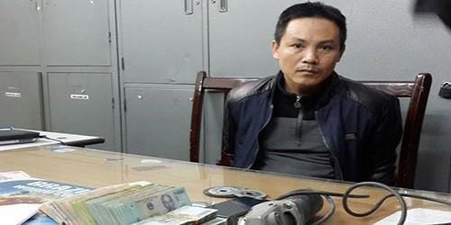Ngô Văn Quỳnh tại cơ quan điều tra.
