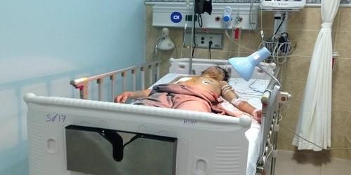 Nạn nhân được điều trị tại bệnh viện