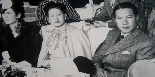 Hoàng hậu Nam Phương và Vua Bảo Đại.