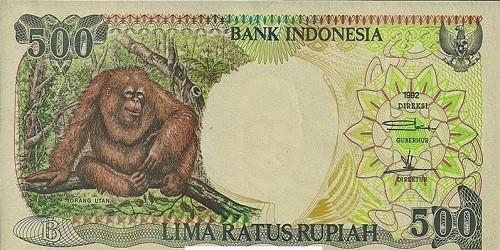 """Bộ tiền in hình khỉ Indonesia """"lên ngôi"""" mùa Tết năm nay"""