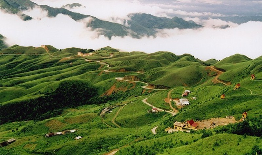 Xã Phúc Sen, huyện miền núi biên giới bản vùng cao mây vờn huyền ảo.