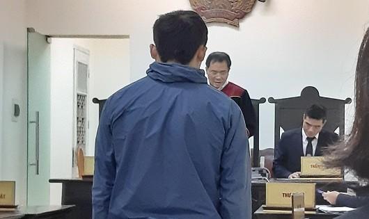 Bị cáo Thạo tại tòa.