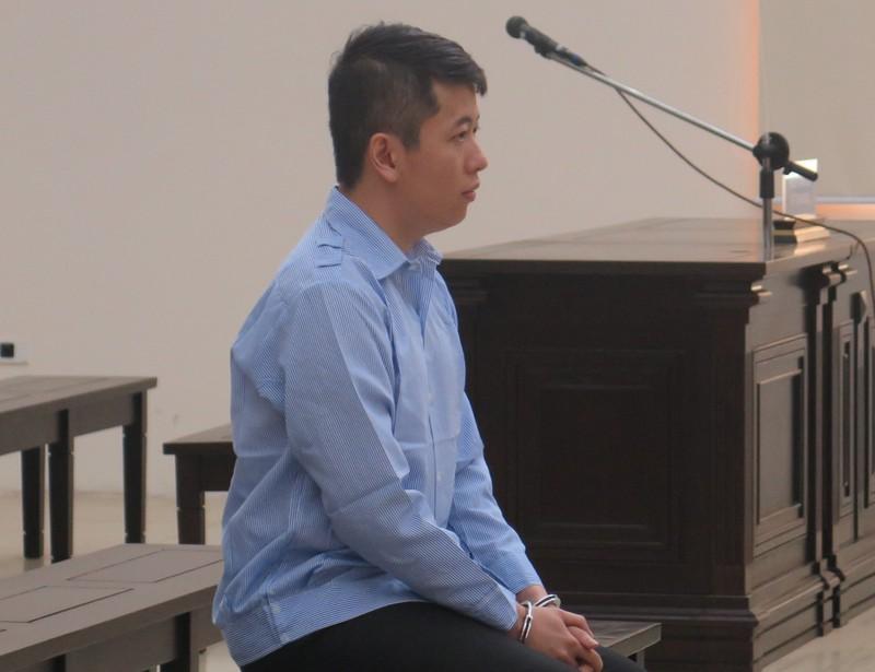 Bị cáo Minh tại tòa.