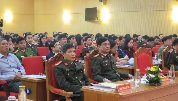 """Bộ Công an tổ chức Lễ mít tinh hưởng ứng """"Ngày pháp luật Việt Nam"""""""