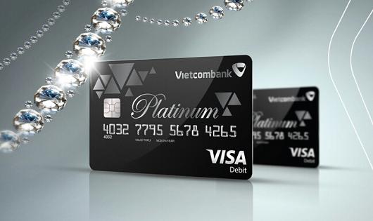 Vietcombank ra mắt thẻ Ghi nợ quốc tế cao cấp Vietcombank Visa Platinum