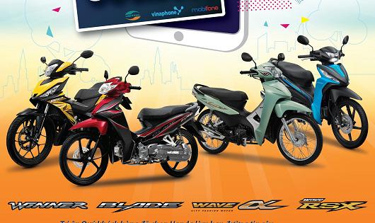 Honda Việt Nam tri ân cho khách hàng mua xe máy
