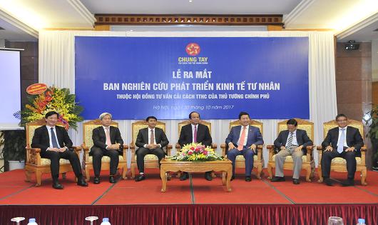 Ra mắt Ban nghiên cứu phát triển Kinh tế tư nhân