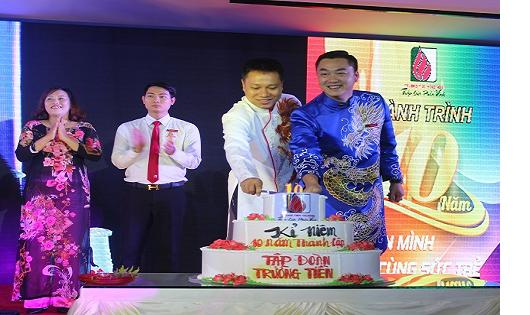 Tập đoàn Trường Tiền kỷ niệm 10 năm thành lập